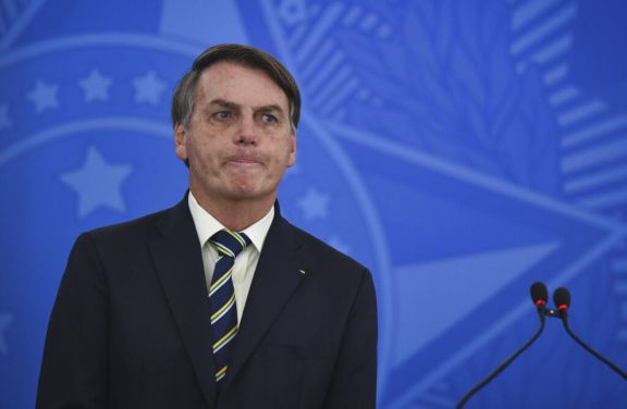 Bolsonaro insultó a la prensa que informó que gastó 2,7 millones de dólares en leche condensada