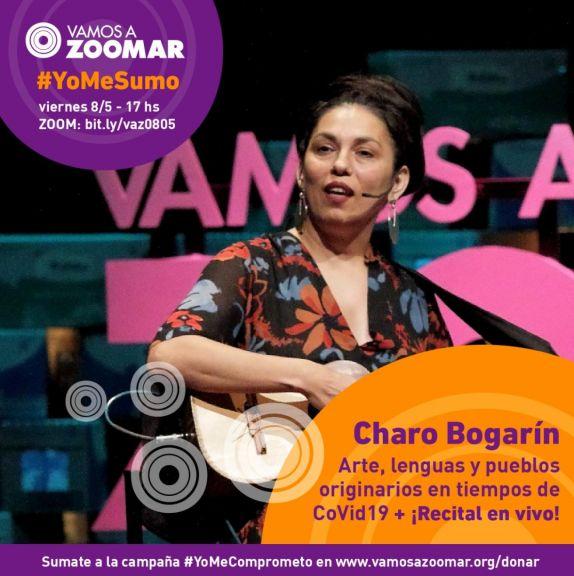 Charo Bogarín VamosAZoomAr