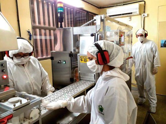 Avanza la producción de alcohol en gel y paracetamol en Misiones