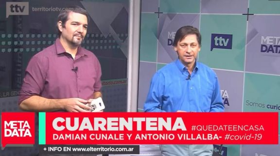 MetaData #2020: Damián Cunale y Antonio Villalba