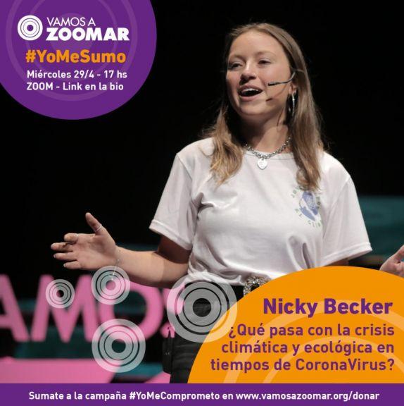 Nicki Becker Vamos a ZoomAr