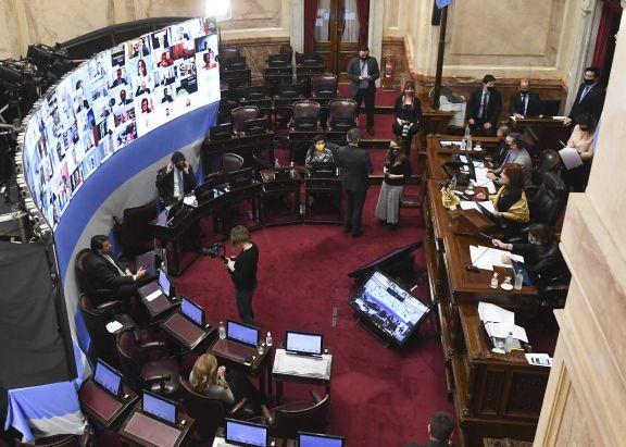 El Aporte Solidario y Extraordinario fue convertido en Ley por el Senado de la Nación