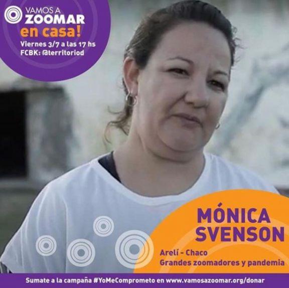 VamosAZoomAr Monica
