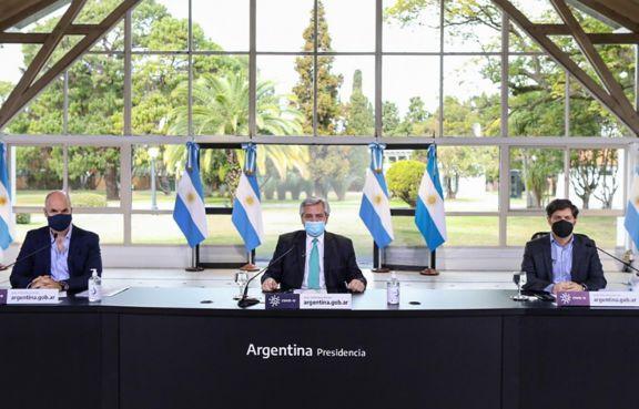 Alberto advirtió sobre el momento de creciente contagios en el país