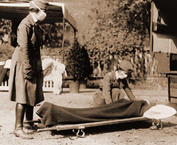 La pandemia se extendió hasta 1920 y dejó más de 50 millones de muertos en el mundo