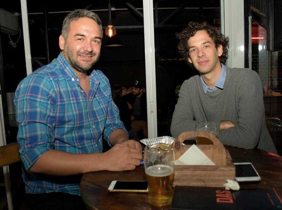Fernando y Lucas Toledo.