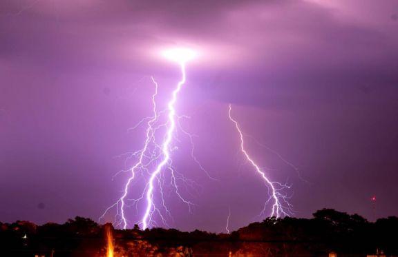 Emiten alerta por tormentas hasta el jueves