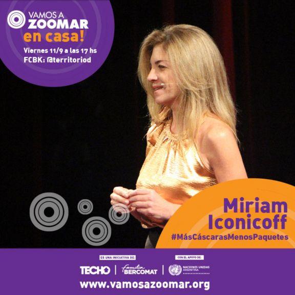 VamosAZoomAr Miriam Iconicoff