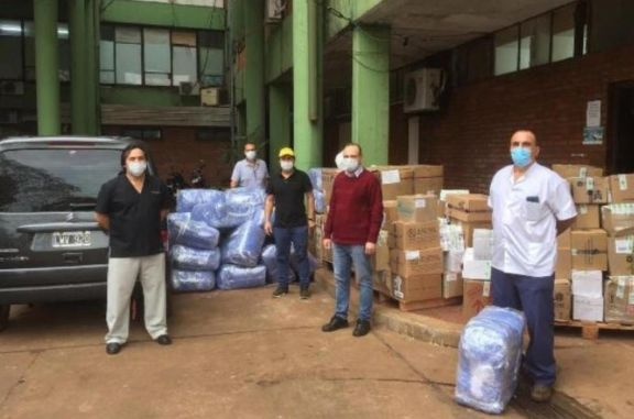 Entrega de más de 160 mil elementos de protección a hospitales de la provincia
