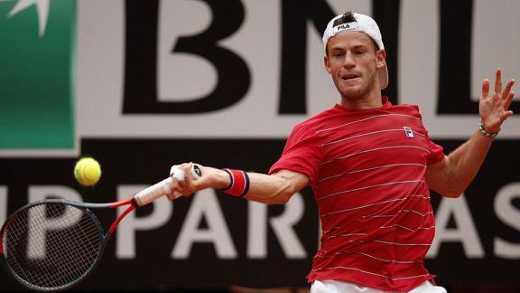 Schwartzman cayó ante Djokovic en la final del Masters 1000 de Roma