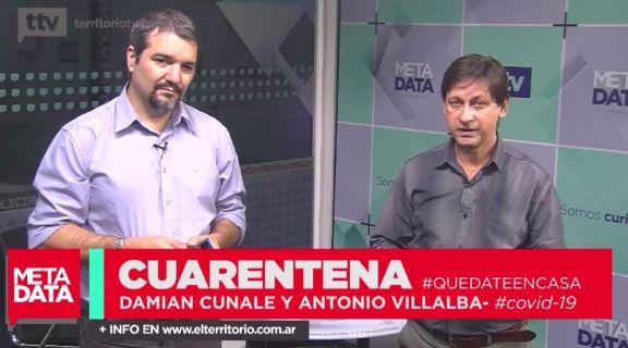 MetaData #2020: conducción Damián Cunale y Antonio Villalba
