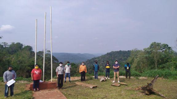 San Pedro: caciques fortalecen unidad para regularizar 14.196 hectáreas