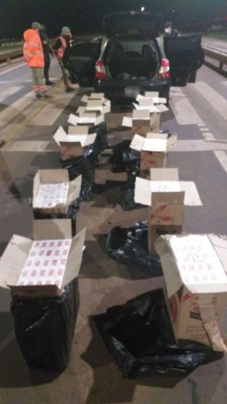 En Alem incautaron 600 gruesas de cigarrillos sin aval aduanero