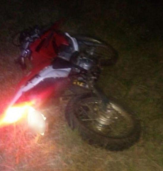 Despistó con su moto y murió sobre la ruta provincial 3