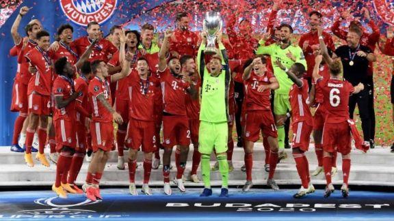 Bayern es campeón la Supercopa de Europa