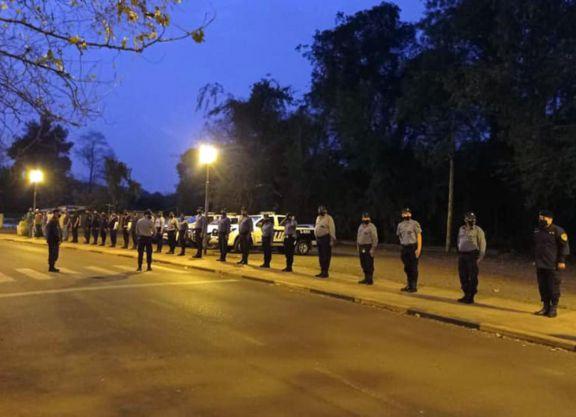Iguazú: aíslan a 19 policías y extreman medidas sanitarias en comisarías