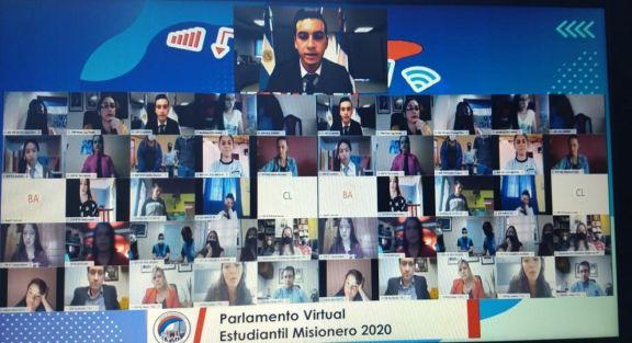 Destacaron las iniciativas de los jóvenes en el Parlamento