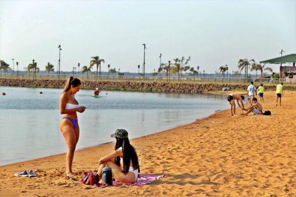 Hoy sigue el calor intenso y advierten sobre el riesgo de la exposición al sol