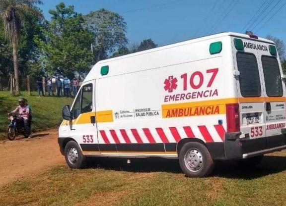 Nueva ambulancia para el Caps en Puerto Piray