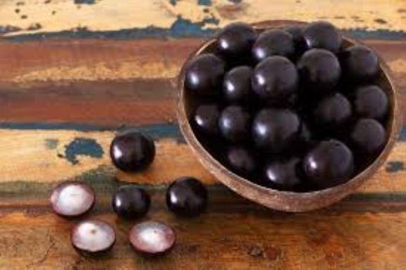 La fruta de Jabuticaba