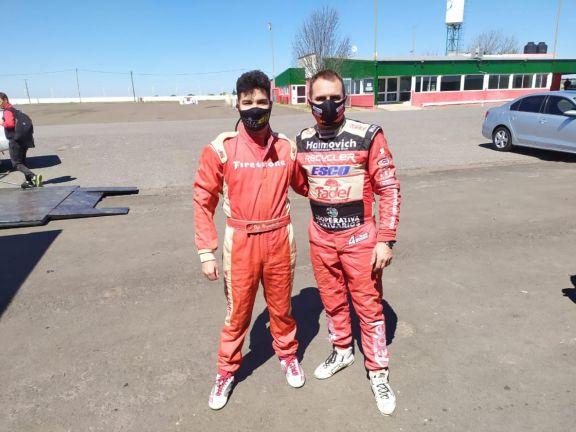 Chiapella tiene todo listo para su debut en la Fórmula Renault 2.0