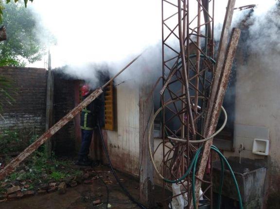 Incendio fatal en el complejo A 3-2 de Posadas