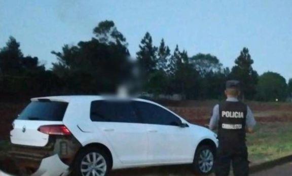 San Vicente: tras persecución, detienen a un hombre que conducía un auto robado