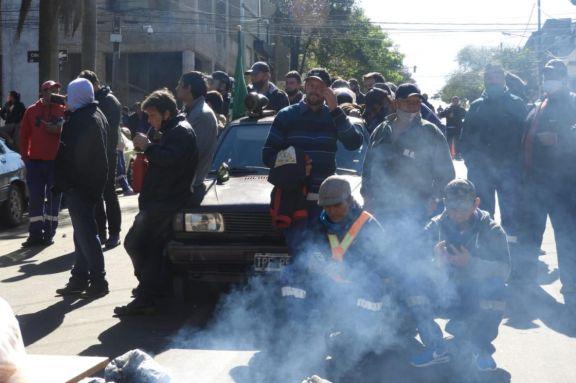 Los municipales de Oberá rechazaron otra propuesta y continúa la huelga