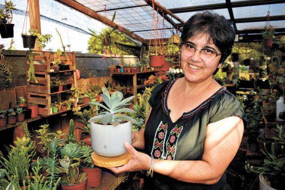 """""""Estar con las plantas es vida"""""""