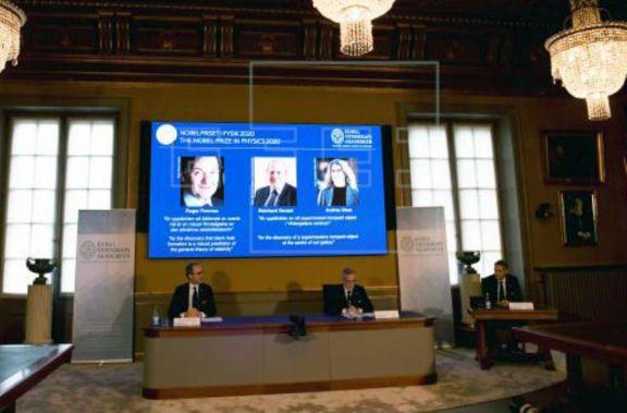 El Nobel de Física fue para tres investigadores de los agujeros negros