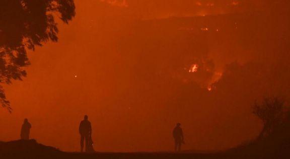 Incendios en Córdoba: alerta en la localidad de Achiras por la cercanía del fuego