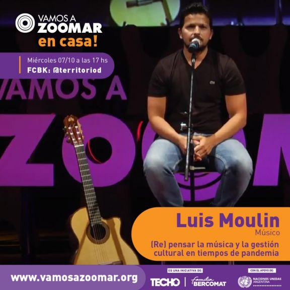 VamosAZoomAr Luis Moulin