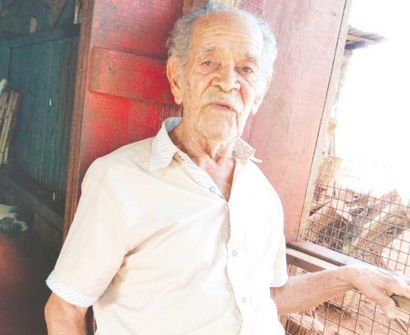 Oriundo de Itacaruaré, vive hace 54 años en Aristóbulo.