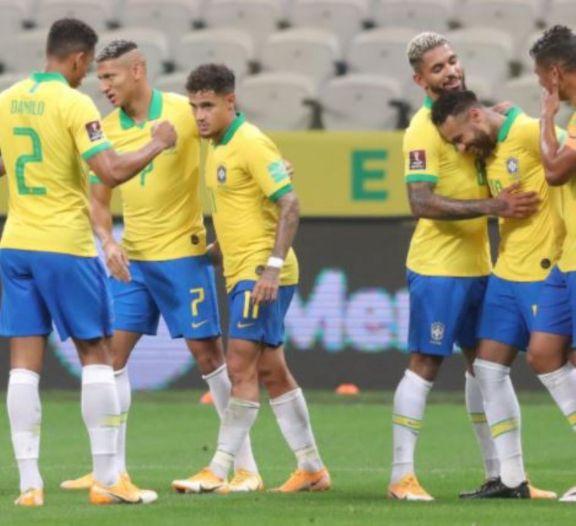 Brasil mostró todo su poderío y apabulló a Bolivia, próximo rival de la Argentina