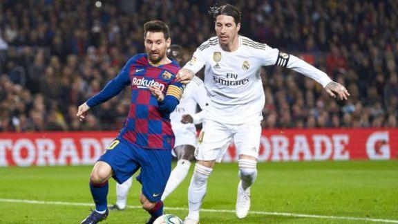 Lionel Messi y Sergio Ramos, otra vez frente a frente
