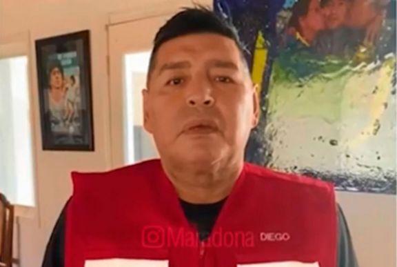 """Maradona a Macri: """"Tus decisiones le cagaron la vida a dos generaciones de argentinos"""""""