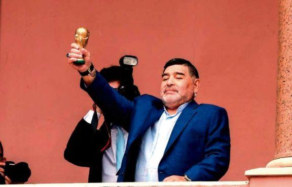 Maradona le respondió a Macri