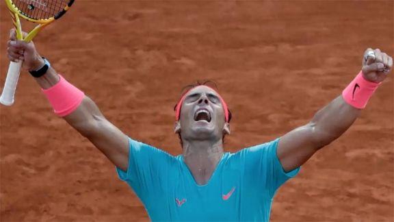 Nadal aplasta a Djokovic, gana su 13º Roland Garros e iguala los títulos de Federer