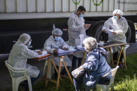 Confirmaron 287 muertes por Covid-19 y 10.324 nuevos contagios en el país