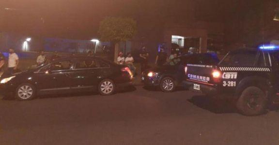 Operativo dejó doce detenidos, entre ellos dos policías