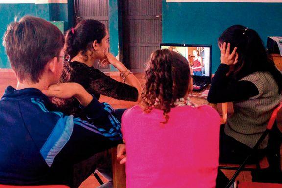 Los jóvenes y  el poder de expresión  del cine