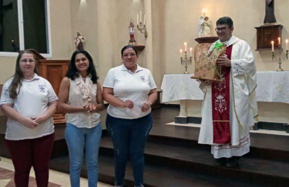 La comunidad de Pozo Azul despidió con un homenaje al padre Horacio
