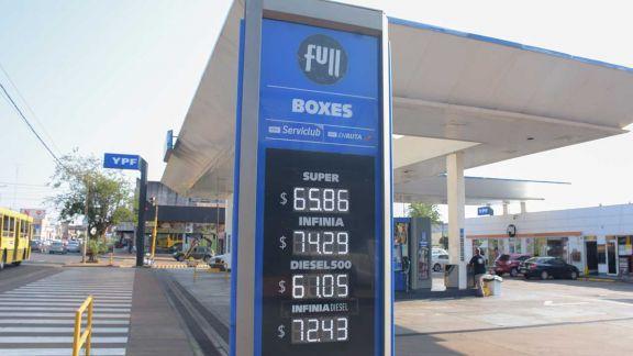 El tercer aumento de naftas amplía la brecha de precios con Buenos Aires