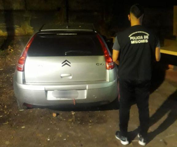 El auto del ladrón.