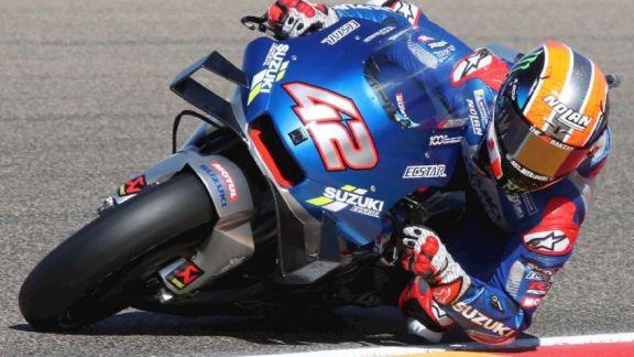 Rins se anotó como nuevo ganador en el Moto GP