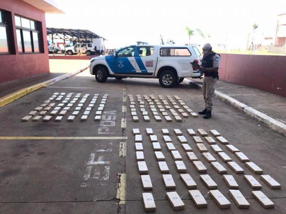 Prefectura secuestró más de 145 kilos de marihuana en Posadas: Hay dos detenidos