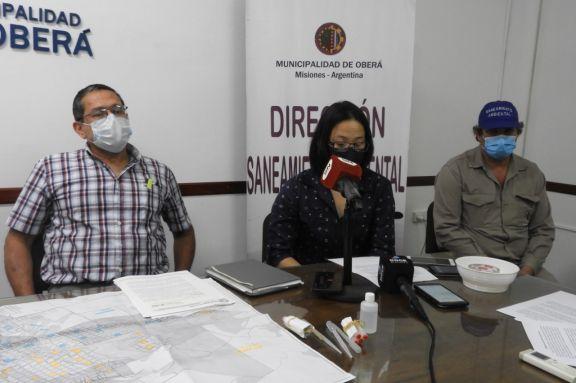 """""""Los datos indican que estamos en riesgo de tener una posible transmisión de Dengue en Oberá"""""""