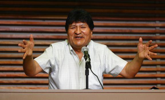 "Evo Morales: ""Vamos a levantar a Bolivia"""