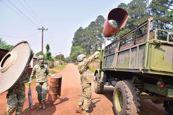 Ya se sacaron unos 43.500 kilos de cacharros de los barrios de Posadas