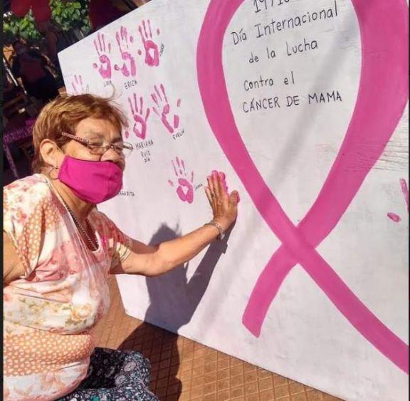Montecarlo: se realizó jornada de concientización sobre el Cáncer de Mama